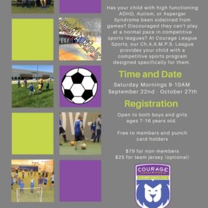 ChAAMPS Soccer Registrations are now OPEN!