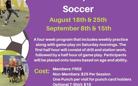Team Sports Soccer Registrations Open!
