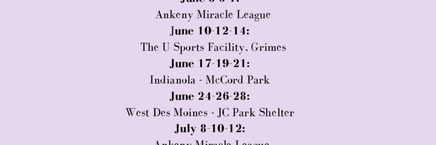 Updated Summer Camps!