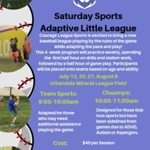 CLS Adaptive Little League Coming this July!