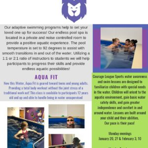 Upcoming Special Swimmers Sessions